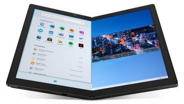 Katlanabilir bilgisayar Lenovo ThinkPad X1 Fold
