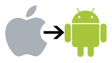 iPhone'dan Android'e Geçişi